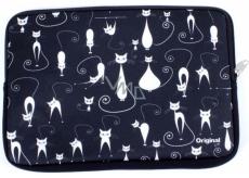 Albi Original Neoprénový obal na tablet Kočky, 23 cm × 15 cm, velikosti 7-8
