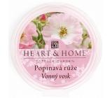 Heart & Home Popínavá růže přírodní vonný vosk 27 g