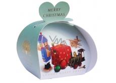 English Soap Vintage Hračky - Veselé Vánoce mýdlo parfémované s bambuckým máslem 3x20g