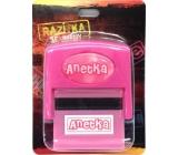 Albi Razítko se jménem Anetka 6,5 cm × 5,3 cm × 2,5 cm