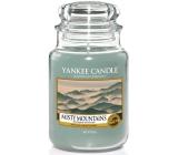 Yankee Candle Misty Mountains - Mlžné hory vonná svíčka Classic velká sklo 623 g