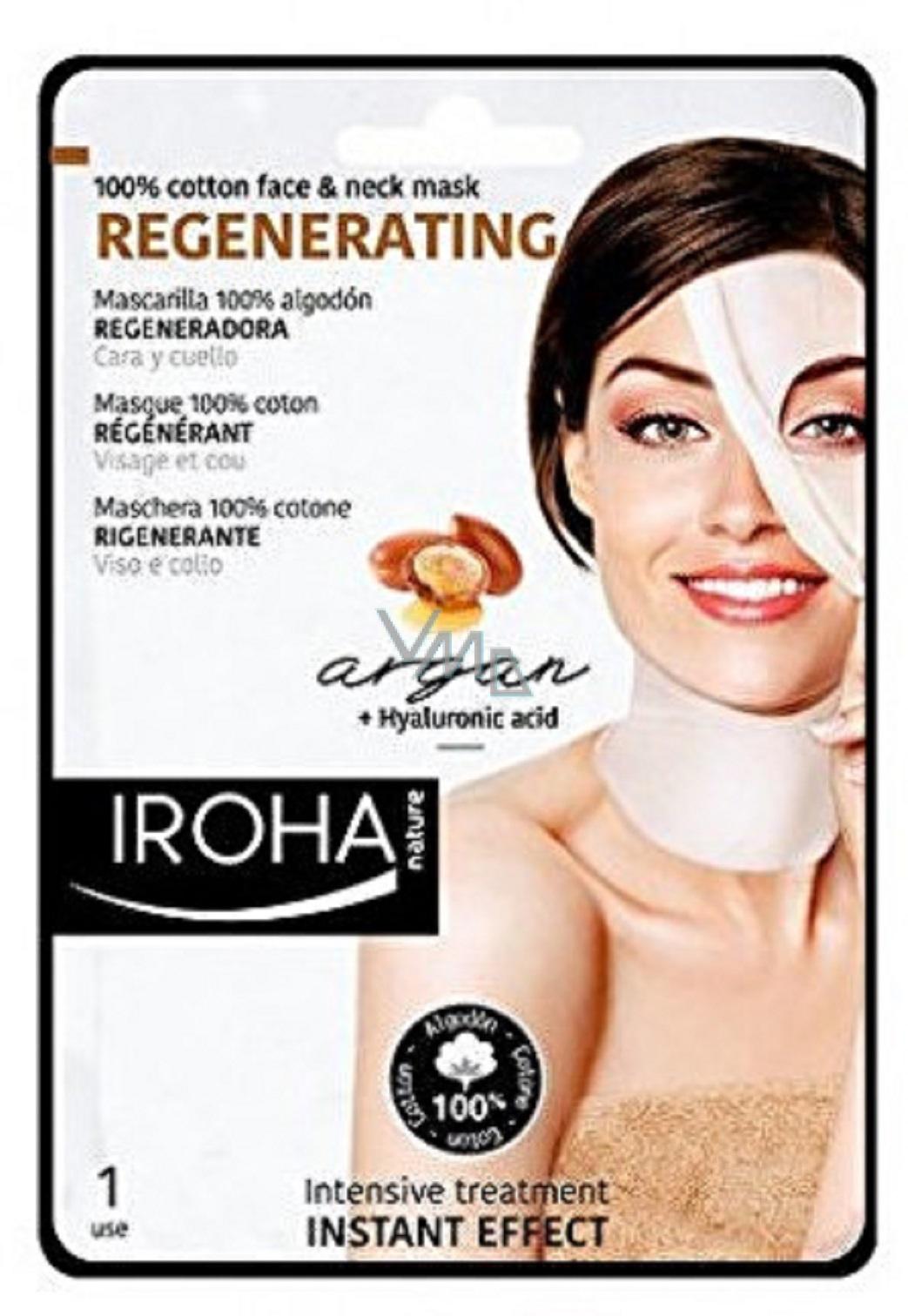 Iroha Cotton Regenerating Mask 1532