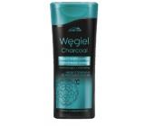 Joanna Charcoal 2v1 detoxikační micelární šampón na vlasy a kondicionér s aktivním uhlím 200 ml
