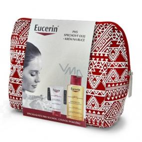 Eucerin pH5 relipidační sprchový olej 200 ml + pH5 regenerační krém na ruce 75 ml + etue, kosmetická sada