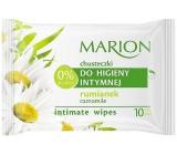 Marion Heřmánek vlhčené ubrousky pro intimní hygienu 10 kusů