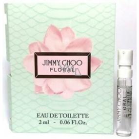 Jimmy Choo Floral toaletní voda pro ženy 2 ml s rozprašovačem, vialka