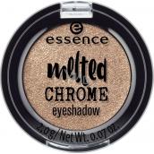Essence Melted Chrome Eyeshadow oční stíny 08 Golden Crown 2 g