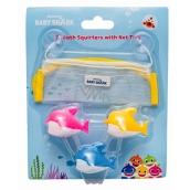 Pinkfong Baby Shark hračky na stříkání vody, koupelový set pro děti