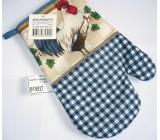 Kuchyňské rukavice s poutkem různé barvy a motivy 1 kus