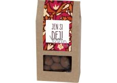 Albi Mandle v čokoládě se skořicí Jen si dej! 80 g
