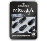 Essence Nails In Style umělé nehty 10 Marbellous 12 kusů