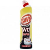 Savo Turbo Wc gel tekutý čistič na vodní kámen 750 ml