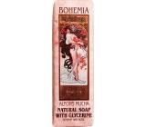 Bohemia Gifts Alfons Mucha Růže toaletní mýdlo 125 g