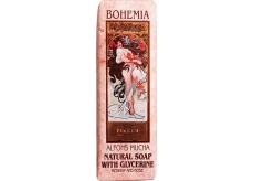 Bohemia Gifts & Cosmetics Alfons Mucha Růže toaletní mýdlo 125 g