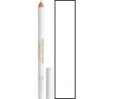 Dermacol White Kohl Pencil kajalová tužka na oči bílá 1,6 g