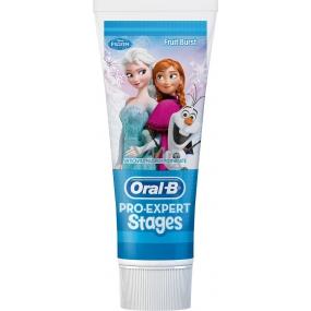 Oral-B Pro Expert Stages Frozen dětská zubní pasta 75 ml