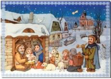 Albi Hrací přání do obálky Betlém Veselé vánoční hody Boni Pueri 14,8 x 21 cm