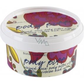Bomb Cosmetics Sametový ročník - Vintage Velvet Přírodní tělové máslo ručně vyrobeno 160 ml