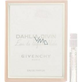 Givenchy Dahlia Divin Eau de Parfum Nude parfémovaná voda pro ženy 1 ml s rozprašovačem, Vialka