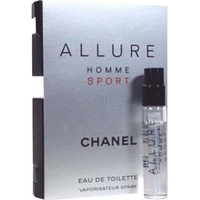 Chanel Allure Homme Sport toaletní voda 1,5 ml s rozprašovačem, Vialka