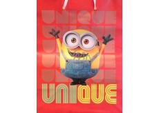 BSB Dárková papírová taška pro děti střední Mimoň Kevin 22,9 x 17,5 x 9,8 cm DT M