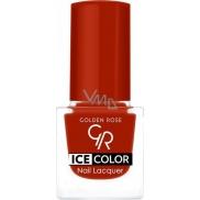 Golden Rose Ice Color Nail Lacquer lak na nehty mini 187 6 ml