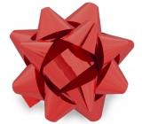 Nekupto Hvězdice střední metal červená 6,5 cm HX 127 30