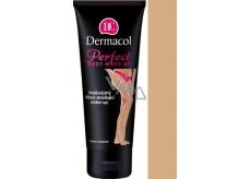 Dermacol Perfect voděodolný zkrášlující tělový make-up odstín Caramel 100 ml