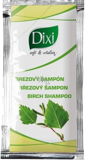 Dixi Březový šampon podporující růst vlasů pro normální vlasy sáček 10 g