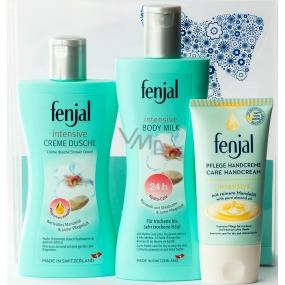 Fenjal Intensive sprchový krém 200 ml + tělové mléko 200 ml + krém na ruce 75 ml, kosmetická sada