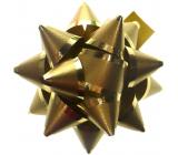 Nekupto Hvězdice střední Luxus zlatá, zlatý proužek 6,5 cm HV 109 01