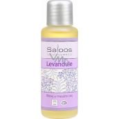 Saloos Levandule tělový a masážní olej k regeneraci, proti bolestem, stresu 50 ml