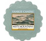 Yankee Candle Misty Mountains - Mlžné hory vonný vosk do aromalampy 22 g
