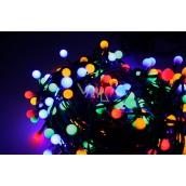 Emos Osvětlení vánoční barevné kuličky 30 m-300 LED + 5 m přívodní kabel