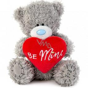 Me To You Medvídek plyšový se srdíčkem a nápisem Be Mine 10,5 cm