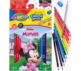 Colorino Pastelky trojhranné Disney Minnie 13 barev
