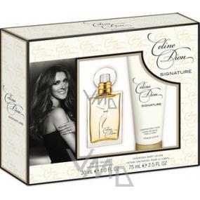 Celine Dion Signature toaletní voda 30 ml + tělové mléko 75 ml, dárková sada pro ženy