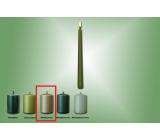 Lima Svíčka hladká metal olivová kužel 22 x 250 mm 1 kus