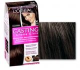 Loreal Paris Casting Creme Gloss barva na vlasy 400 tmavý kaštan