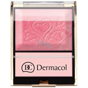 Dermacol Blush & Illuminator tvářenka s rozjasňovačem 08 9 g