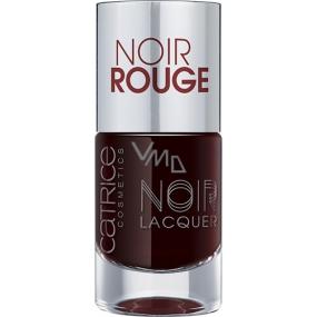 Catrice Noir Noir Lacquer lak na nehty 02 Noir Rouge 10 ml