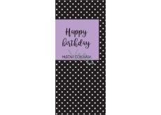 Albi Dárková mléčná čokoláda Happy Birth Day 50 g 14 x 6 cm