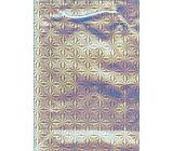 Nekupto Dárková papírová taška velká 32,5 x 26 x 13 cm Stříbrná hologramová 050 02 THL