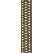 Nekupto balící papír Zlatý s puntíky 70 x 150 cm 912 01 BF