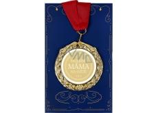 Albi Papírové přání do obálky Přání s medailí - Nejlepší máma W