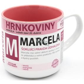 Nekupto Hrnkoviny Hrnek se jménem Marcela 0,4 litru