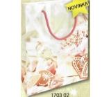 Nekupto Dárková papírová taška malá 14 x 11 x 6,5 cm Vánoční 1703 02 WBS