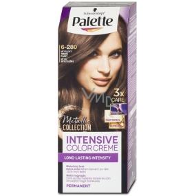 Schwarzkopf Palette Intensive Color Creme barva na vlasy 6-280 Metalický tmavě plavý