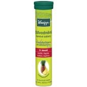 Kneipp Šumivé tablety na odvodnění, osvěžující nápoj s ananasovou chutí 20 tablet