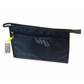 Natalia Angers Kosmetická kabelka na zip velká modrá 32 x 20 x 9 cm NA01